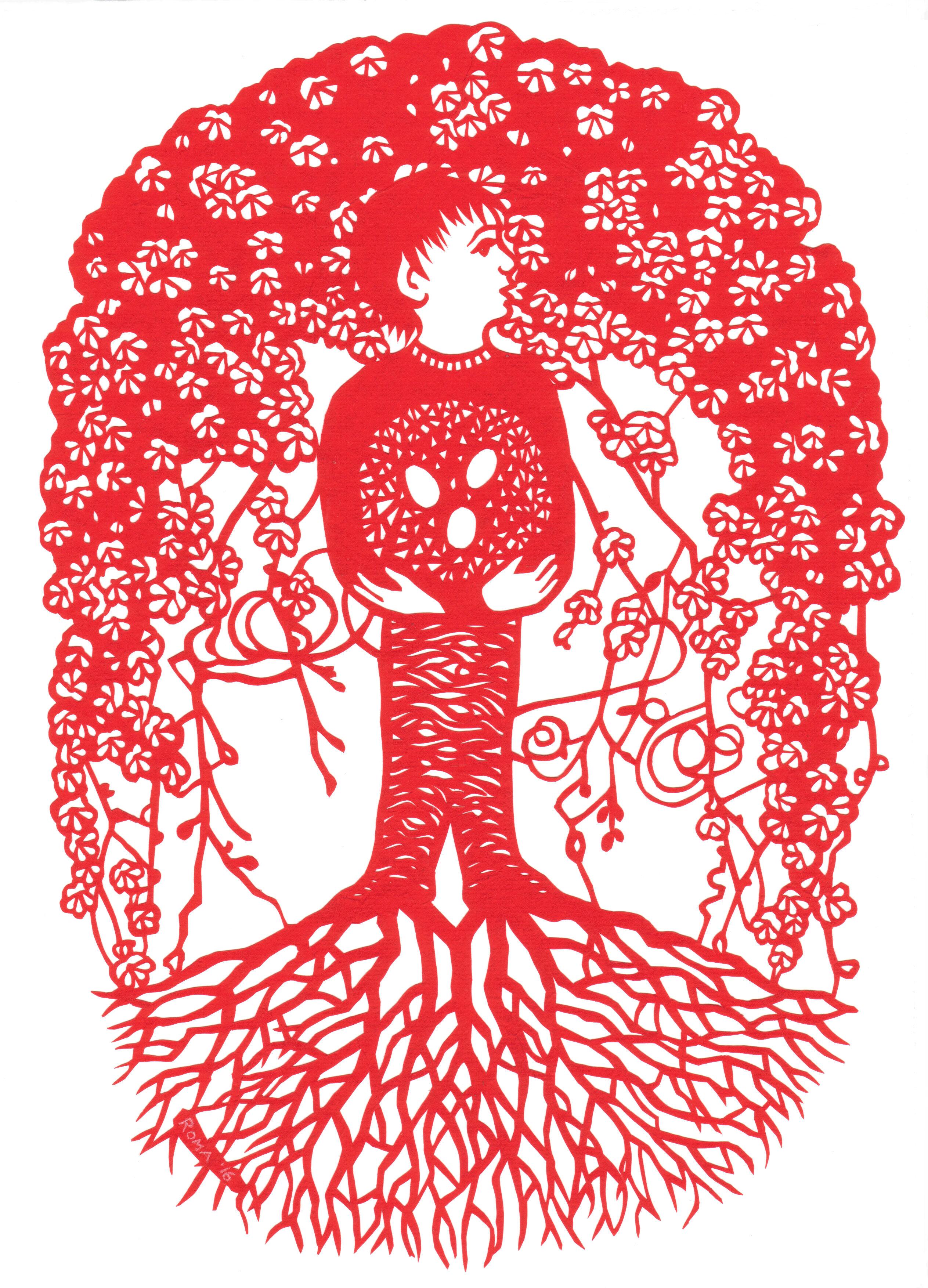 Boy in a Tree 2016
