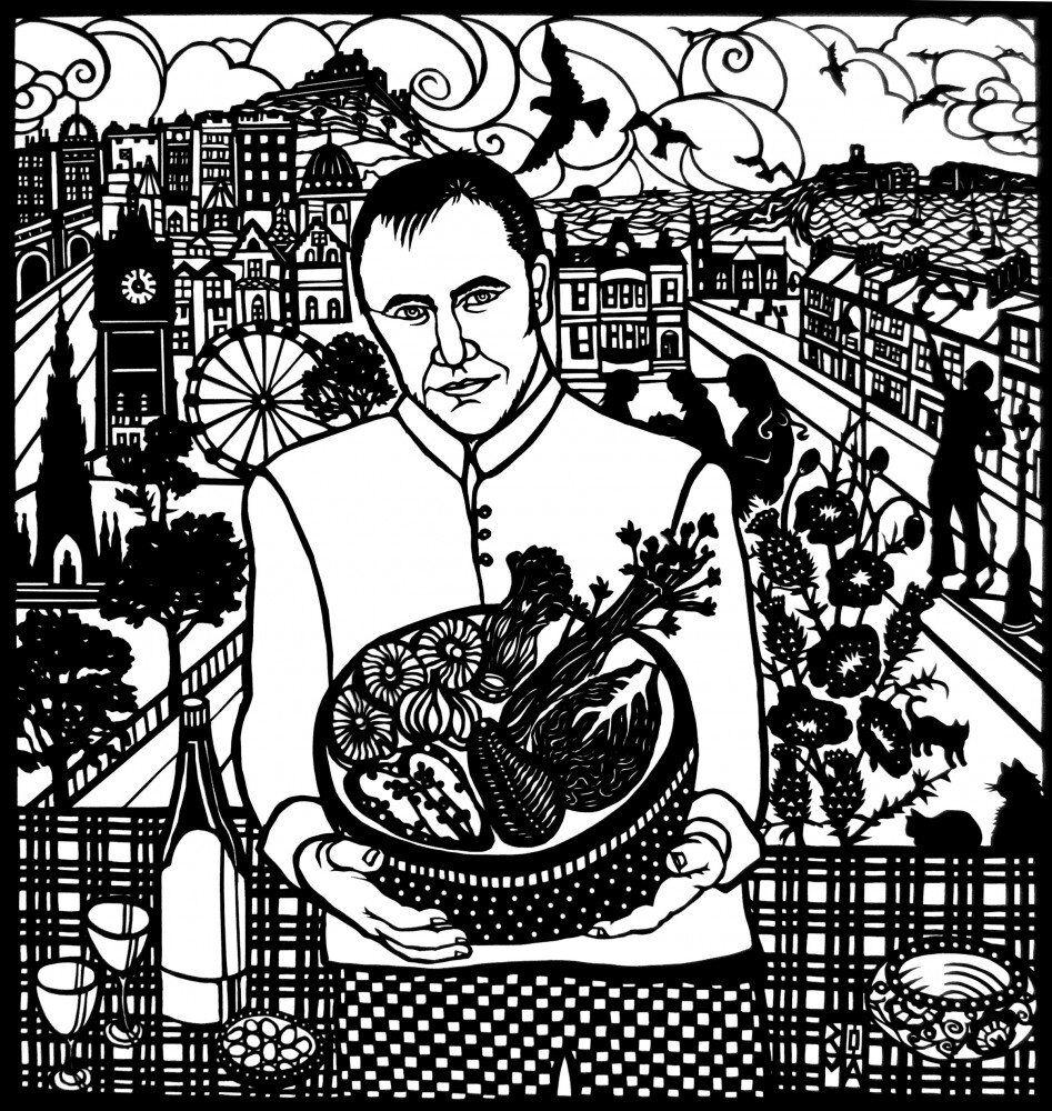Emigrant. Portrait of Jim in Scotland