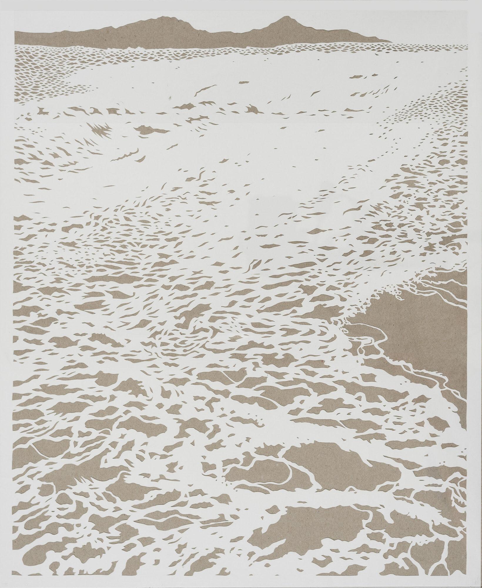 Rising Tide  Papercut Ocean series 2020