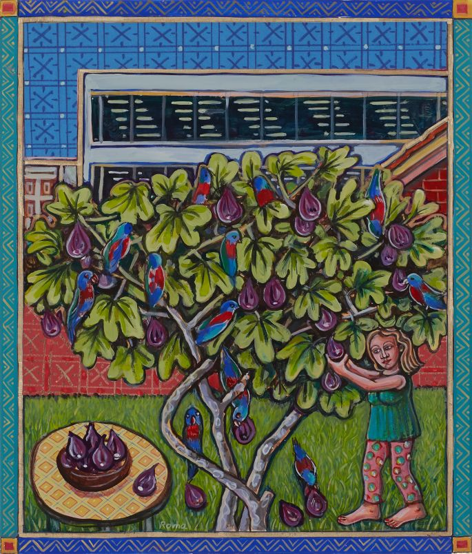 4. Backyard Fig Tree 2009 HR
