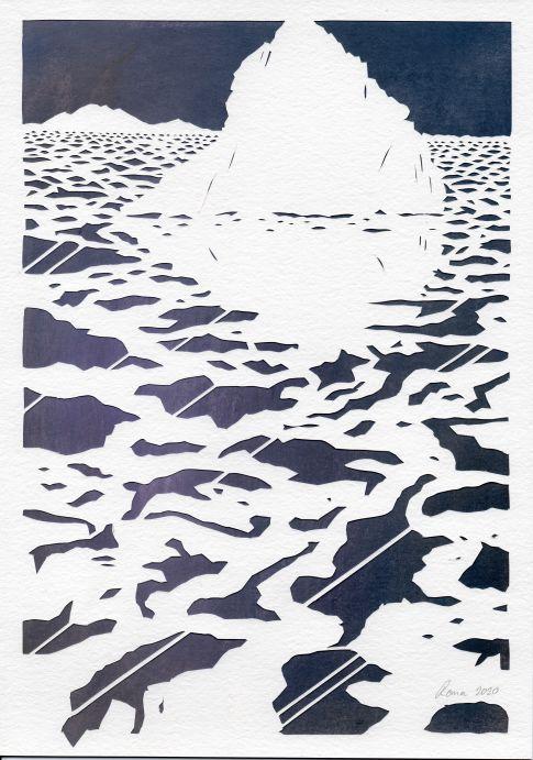 Arctica Papercut for Door to Door online exhibition
