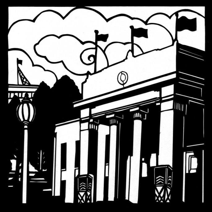 Town Hall. Box Hill Series